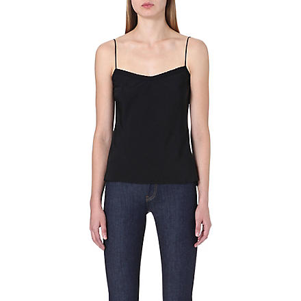 TED BAKER Tissa scalloped camisole (Black