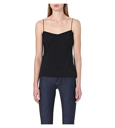 TED BAKER Tissa scalloped camisole (Black