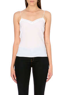 TED BAKER Tissa scalloped camisole