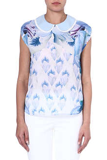 TED BAKER Damya printed top