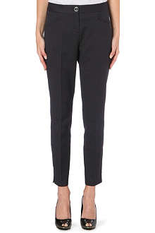 TED BAKER Diamond jacquard trousers