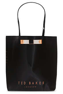TED BAKER Emacon bow shopper bag