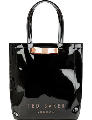 TED BAKER Emacon bow shopper bag