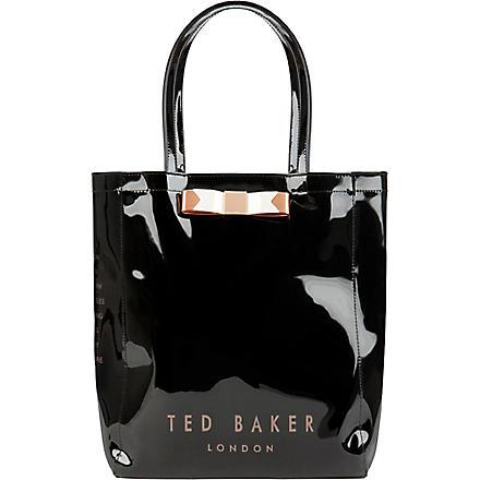 TED BAKER Emacon bow shopper bag (Jet