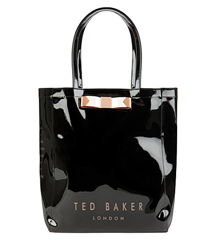 TED BAKER Emacon bow shopper bag (Jet