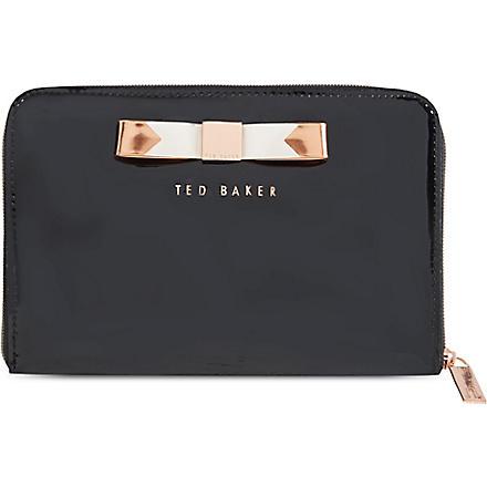 TED BAKER Talcon bow mini tablet case (Jet