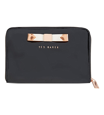 TED BAKER Talcon bow mini tablet case (Jet