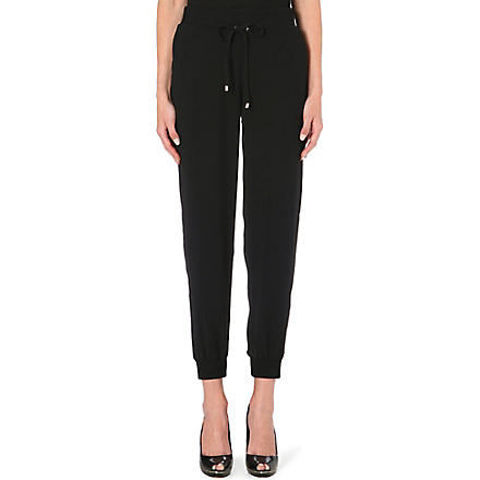 TED BAKER Kimiko luxe jogging bottoms (Black