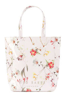 TED BAKER Botcon botanical bloom-print shopper bag