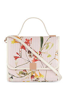 TED BAKER Botanical bloom print lady bag