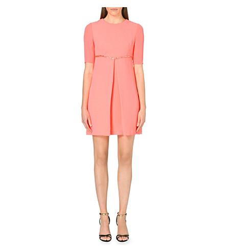 TED BAKER Venyce embellished dress (Coral