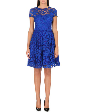 TED BAKER Caree floral tulle dress
