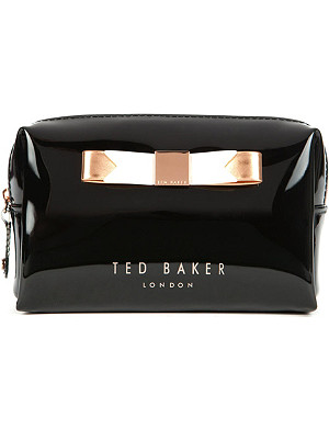 TED BAKER Piave small bow wash bag