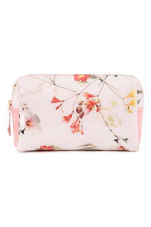 TED BAKER Vomano small botanical bloom wash bag
