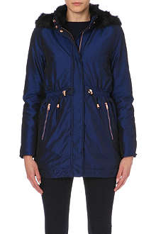 TED BAKER Hooded parka jacket
