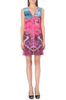 TED BAKER Rhona road to nowhere print dress