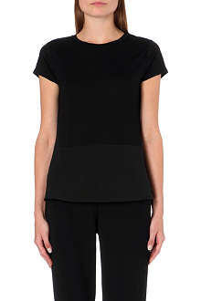 TED BAKER Larrah jersey panel top