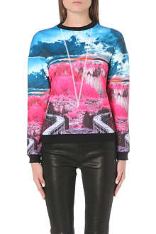 TED BAKER Louize road to nowhere sweatshirt