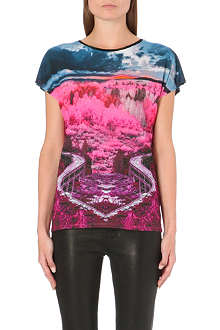 TED BAKER Winnee road to nowhere printed top