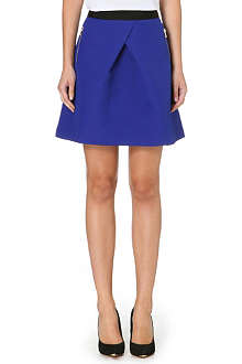 TED BAKER Block colour mini skirt