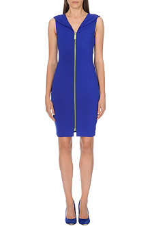 TED BAKER Ravana front-zip dress