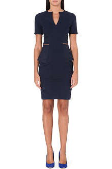 TED BAKER Peplum tailored dress