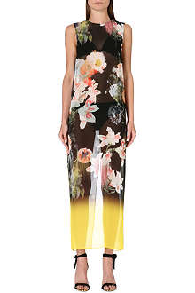 TED BAKER Opulant Bloom floral-print cover-up