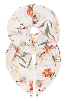 TED BAKER Botanical bloom skinny scarf