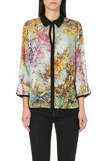 TED BAKER Pretty Trees chiffon shirt