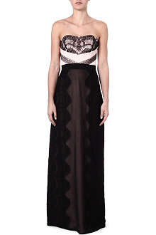 TED BAKER Hanya lace maxi dress