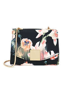 TED BAKER Keira opulent bloom clasp clutch