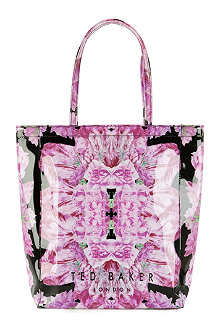 TED BAKER Tulicon floral-print large shopper bag