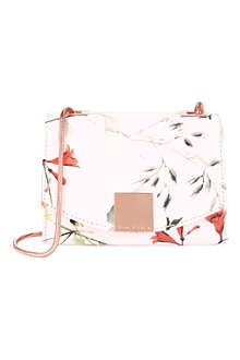 TED BAKER Trudie botanical bloom clutch