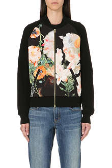 TED BAKER Opulent Bloom bomber jacket