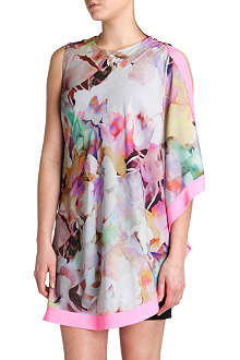 TED BAKER Elsee electric day dream tunic dress