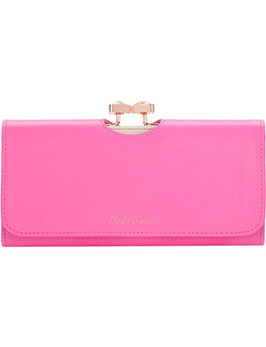 TED BAKER Caleena bow leather purse