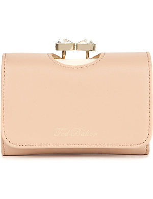 TED BAKER Caaro bow leather purse