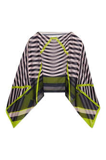 TED BAKER Candy striped cape