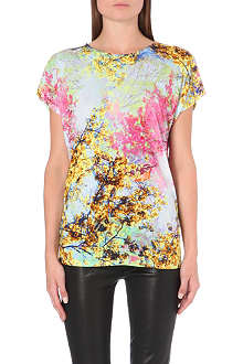 TED BAKER Pennee pretty trees print t-shirt