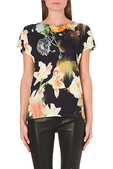 TED BAKER Opulent bloom t-shirt