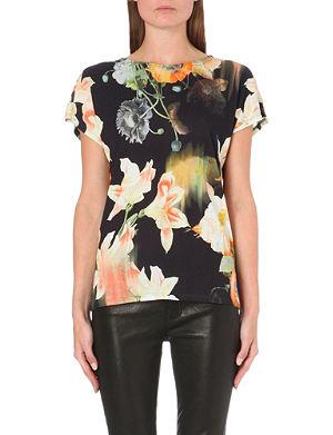TED BAKER Opulent bloom t-shirt