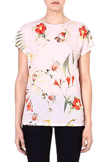 TED BAKER Xana botanical bloom top