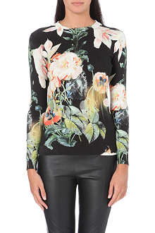TED BAKER Opulent bloom printed top