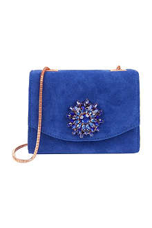 TED BAKER Lilita gemstone embellished cross-body bag