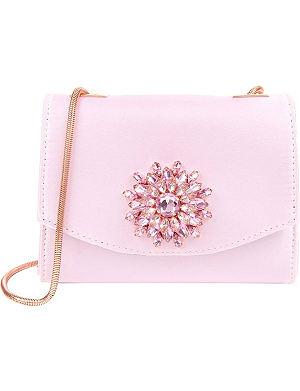 TED BAKER Lilita gemstone embellished cross-body bag