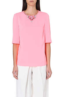 TED BAKER Meleni embellished top