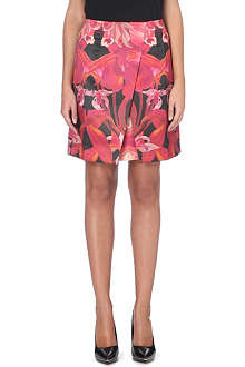 TED BAKER Jungle orchid print skirt