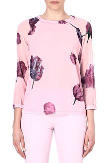 TED BAKER Tulip print top