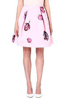 TED BAKER Tulip print skirt