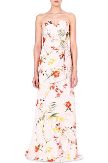 TED BAKER Alana botanical bloom maxi dress